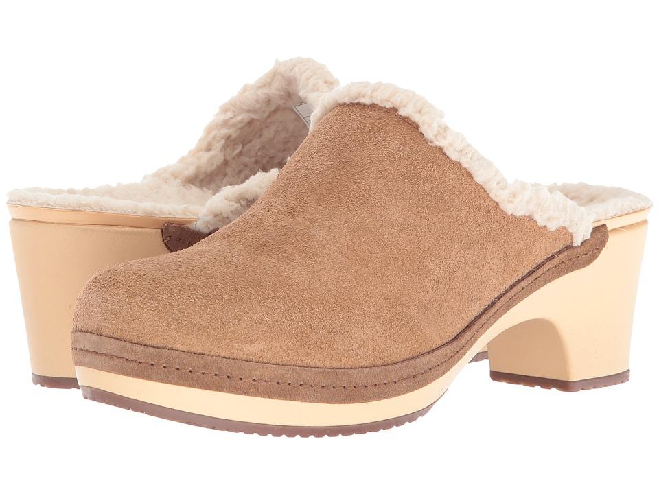 Crocs - Sarah Lined Clog (Hazelnut) Women's Clog Shoes