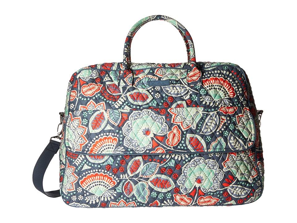 Vera Bradley Luggage - Grand Traveler (Nomadic Floral) Duffel Bags