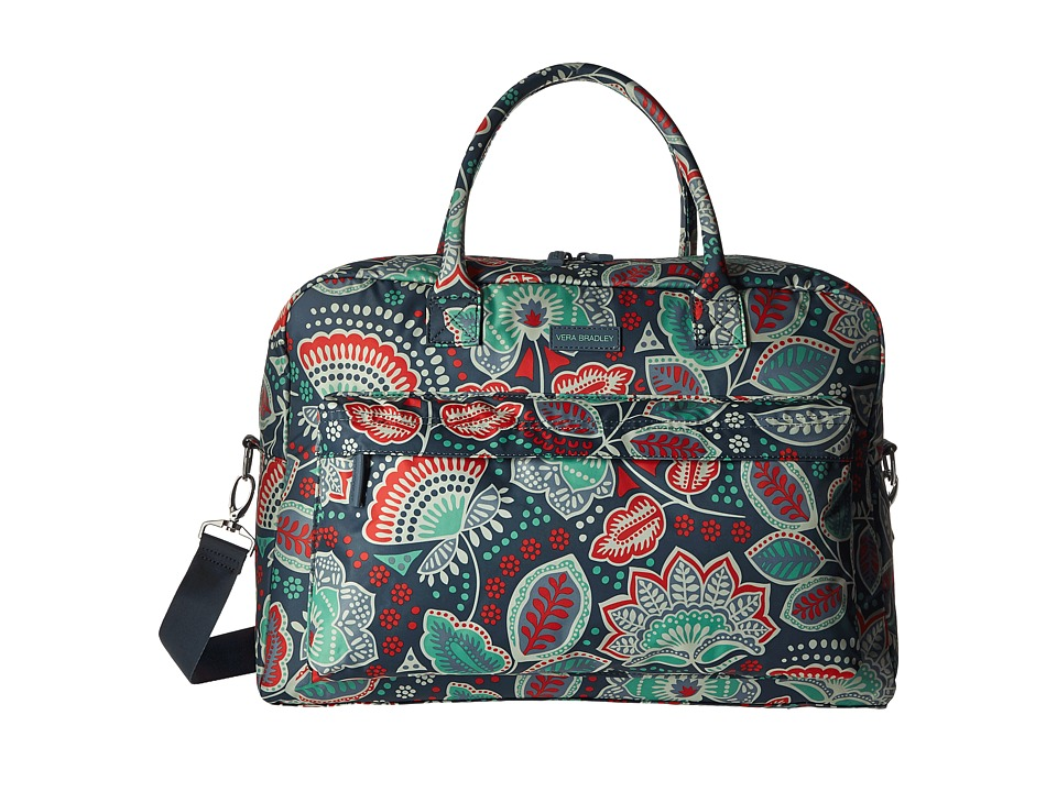 Vera Bradley Luggage - Perfect Companion Travel Bag (Nomadic Floral) Bags