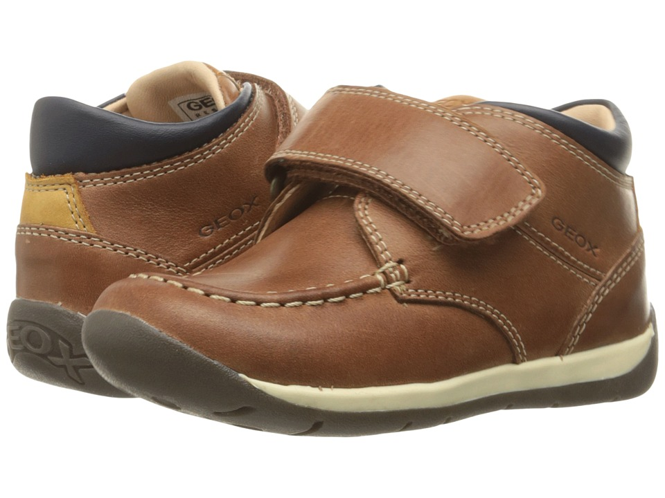 Geox Kids - Baby Each Boy 10 (Infant/Toddler) (Brandy) Boy's Shoes