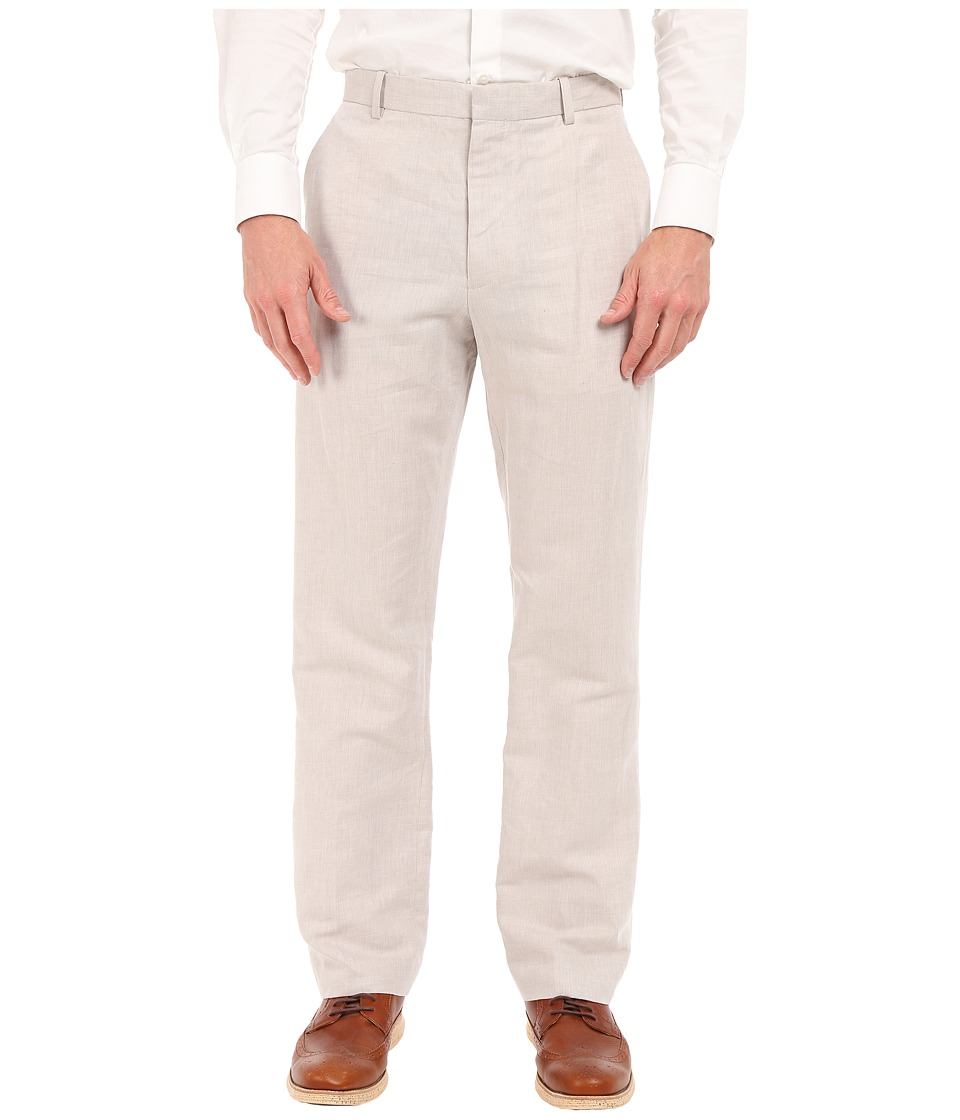 Perry Ellis - Linen Suit Pants (Natural Linen) Men's Casual Pants