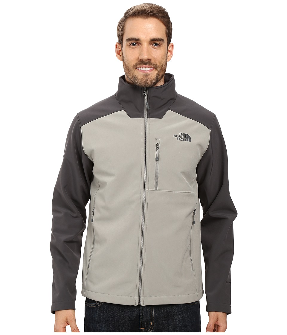 The North Face - Apex Bionic 2 Jacket (Moon Mist Grey/Asphalt Grey) Men's Coat