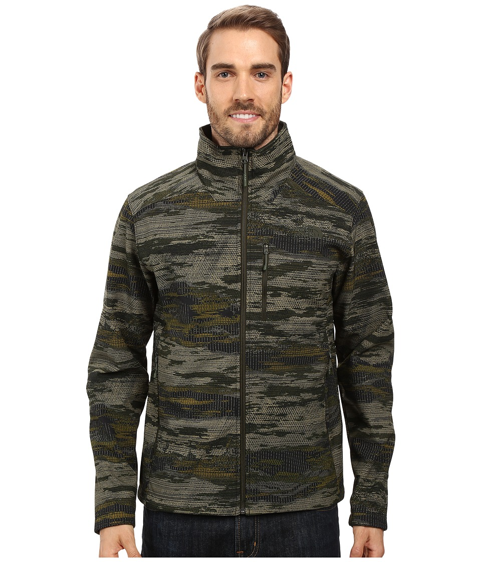 The North Face - Apex Bionic 2 Jacket (Rosin Green Glamo Print) Men's Coat