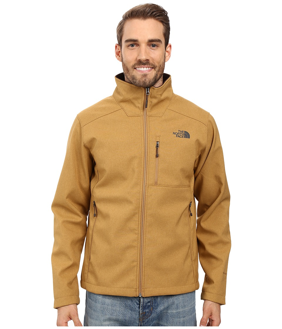 The North Face - Apex Bionic 2 Jacket (Dijon Brown Heather/Dijon Brown Heather) Men's Coat