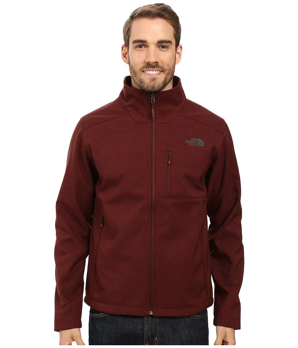 The North Face - Apex Bionic 2 Jacket (Sequoia Red Heather/Sequoia Red Heather) Men's Coat