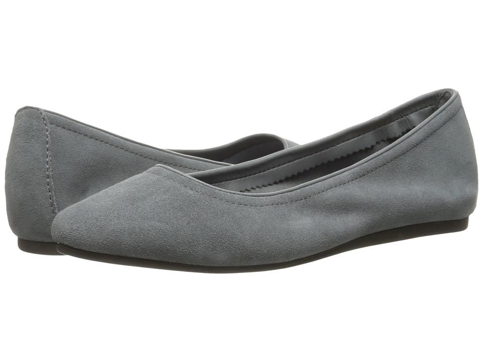 Crocs Lina Suede Flat (Grey) Women