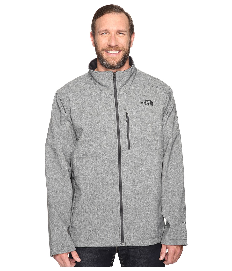 The North Face - Apex Bionic 2 Jacket 3XL (TNF Medium Grey Heather/TNF Medium Grey Heather) Men's Coat