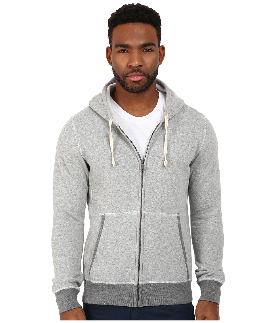Scotch & Soda - Home Alone Zip Through Hooded Sweat (Grey) Men's Sweatshirt