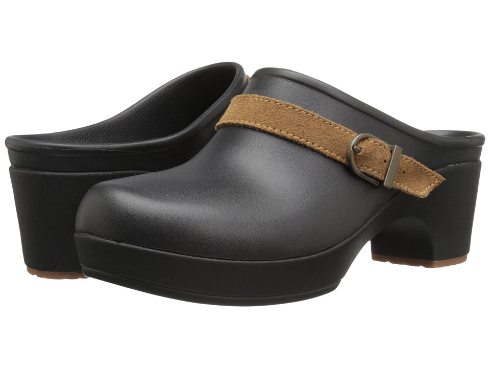 Crocs - Sarah Clog (Black) Women's Clog Shoes