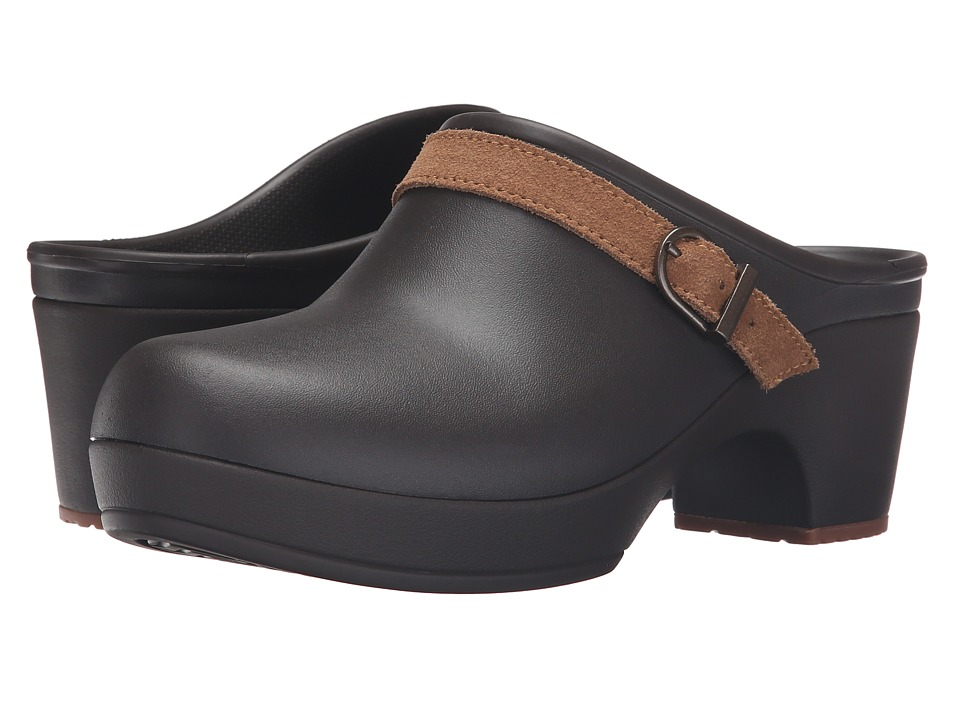 Crocs - Sarah Clog (Espresso) Women's Clog Shoes