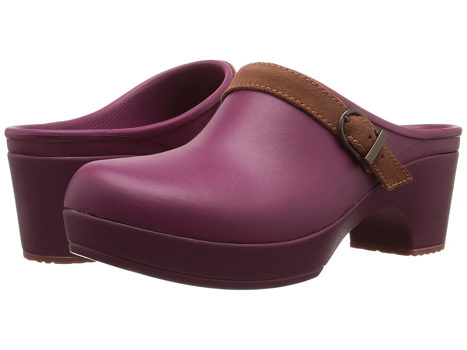 Crocs - Sarah Clog (Plum) Women's Clog Shoes
