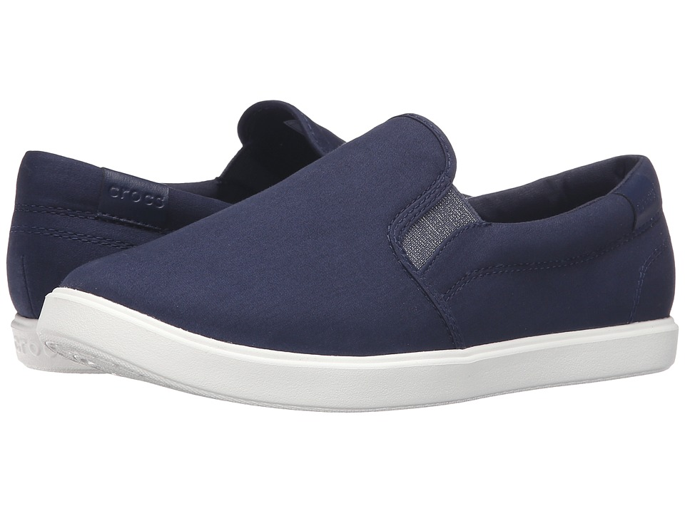 Crocs CitiLane Slip-On Sneaker (Navy) Women