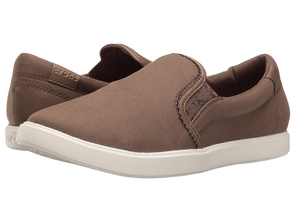 Crocs CitiLane Slip-On Sneaker (Olive) Women