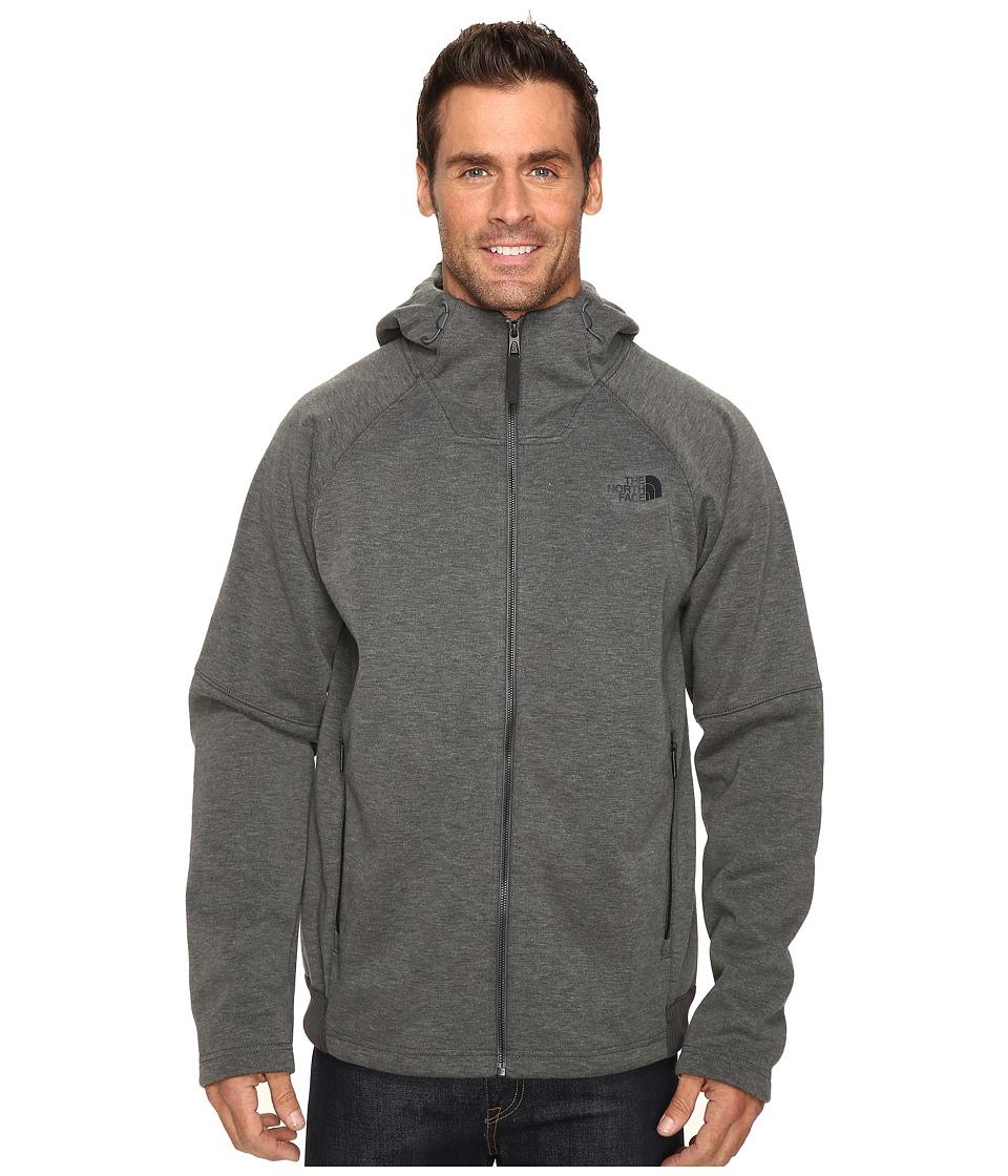The North Face - Trunorth Hoodie (Asphalt Grey Heather/Asphalt Grey Heather) Men's Sweatshirt