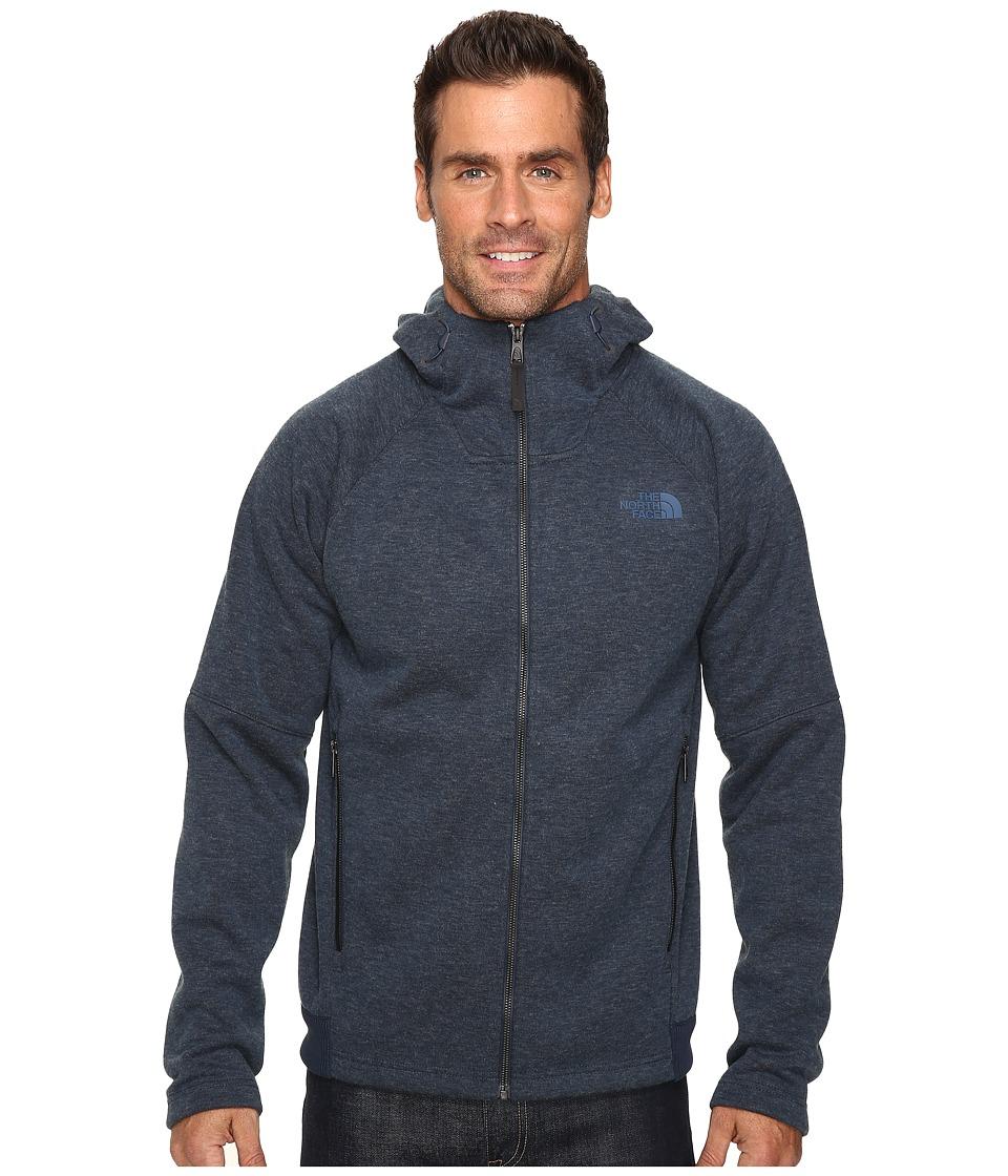 The North Face - Trunorth Hoodie (Urban Navy Heather/Urban Navy Heather) Men's Sweatshirt