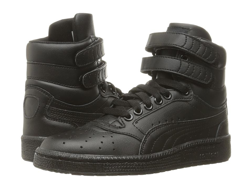 Puma Kids - Sky II Hi Jr (Big Kid) (PUMA Black) Boys Shoes