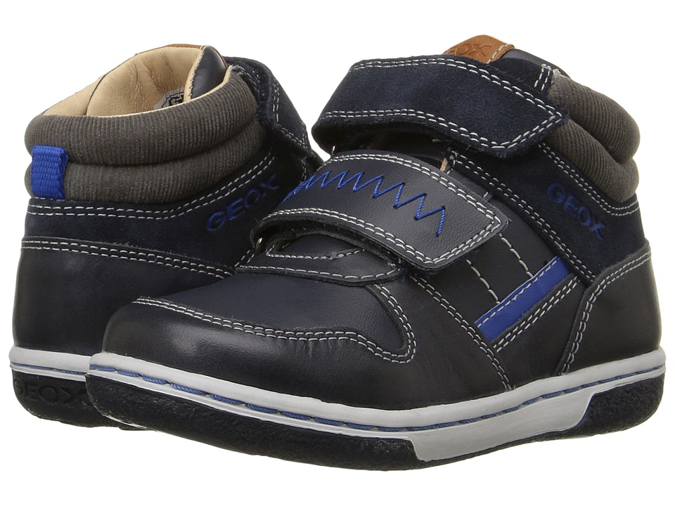 Geox Kids - Baby Flick Boy 47 (Toddler) (Navy) Boy's Shoes
