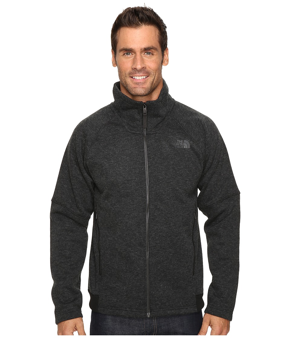 The North Face - Trunorth Full Zip (TNF Black Heather/TNF Black Heather) Men's Fleece
