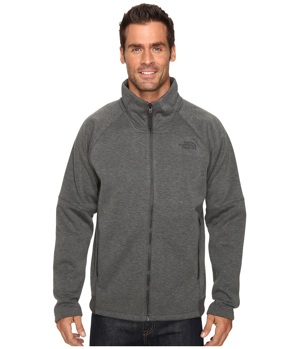 The North Face - Trunorth Full Zip (Asphalt Grey Heather/Asphalt Grey Heather) Men's Fleece