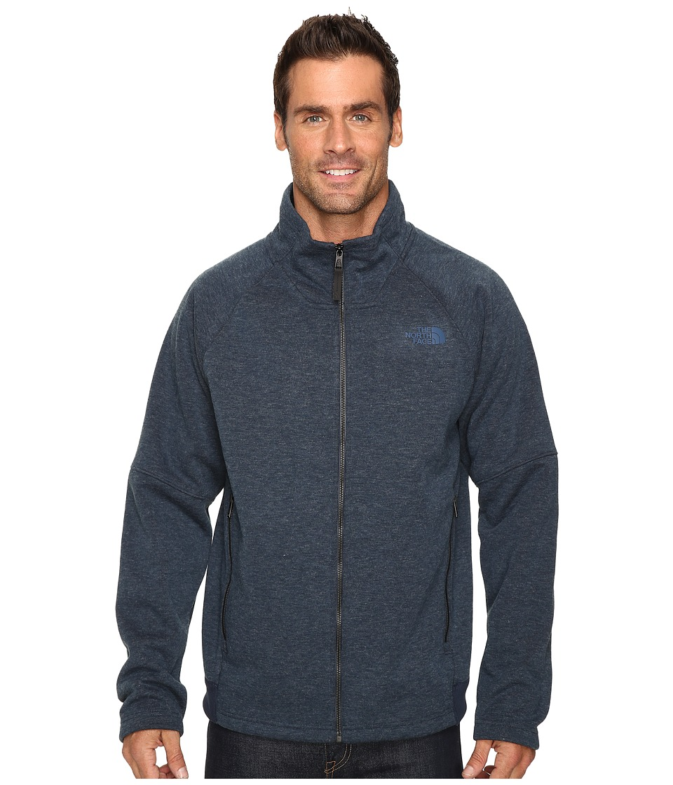 The North Face - Trunorth Full Zip (Urban Navy Heather/Urban Navy Heather) Men's Fleece