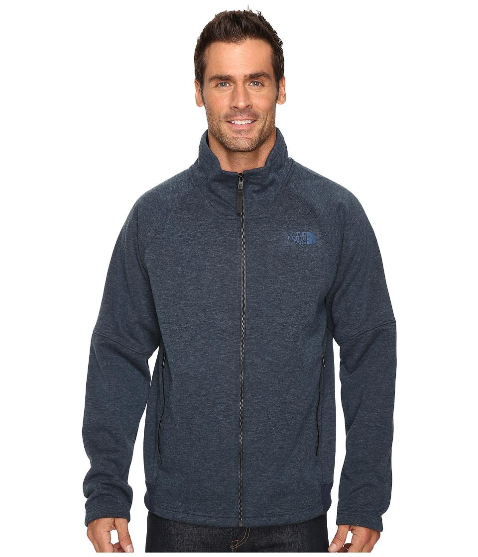 The North Face - Trunorth Full Zip (Urban Navy Heather/Urban Navy Heather) Men's Fleece