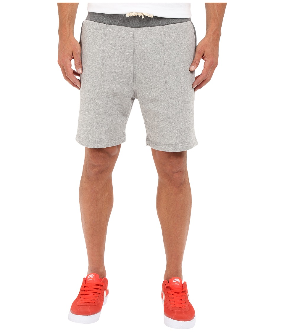 Scotch & Soda - Home Alone Sweat Shorts (Grey) Men's Shorts