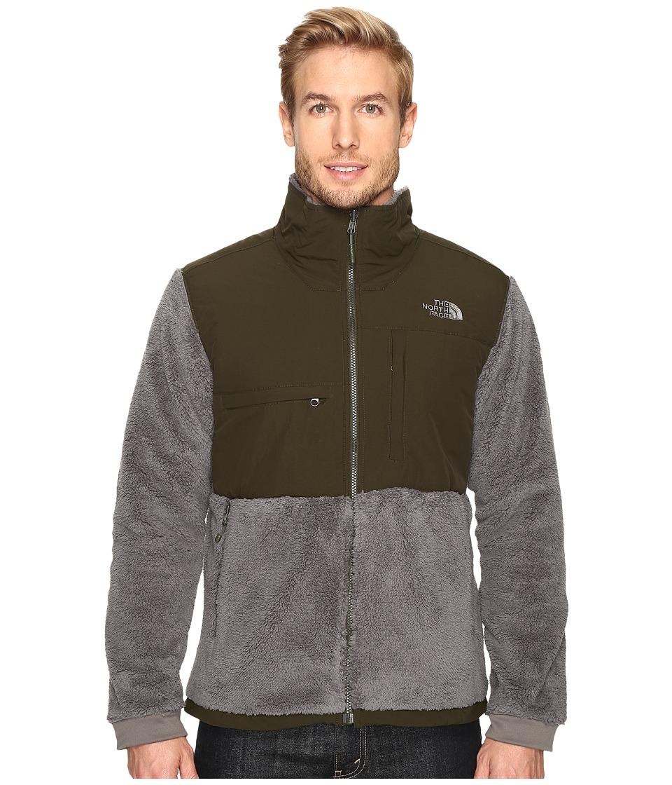 The North Face - Novelty Denali Jacket (Fusebox Grey Sherpa/Rosin Green) Men's Jacket