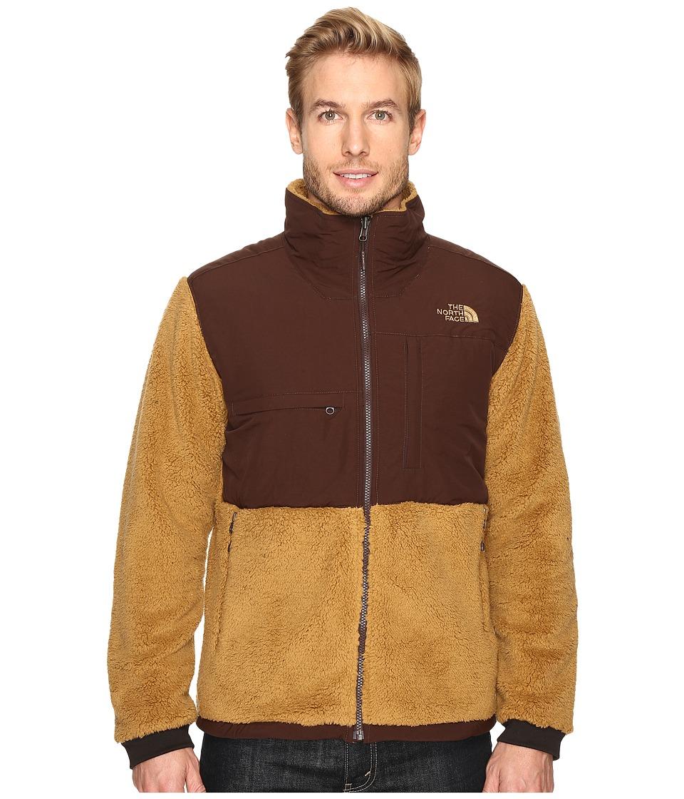 The North Face - Novelty Denali Jacket (Dijon Brown Sherpa/Coffee Bean Brown) Men's Jacket