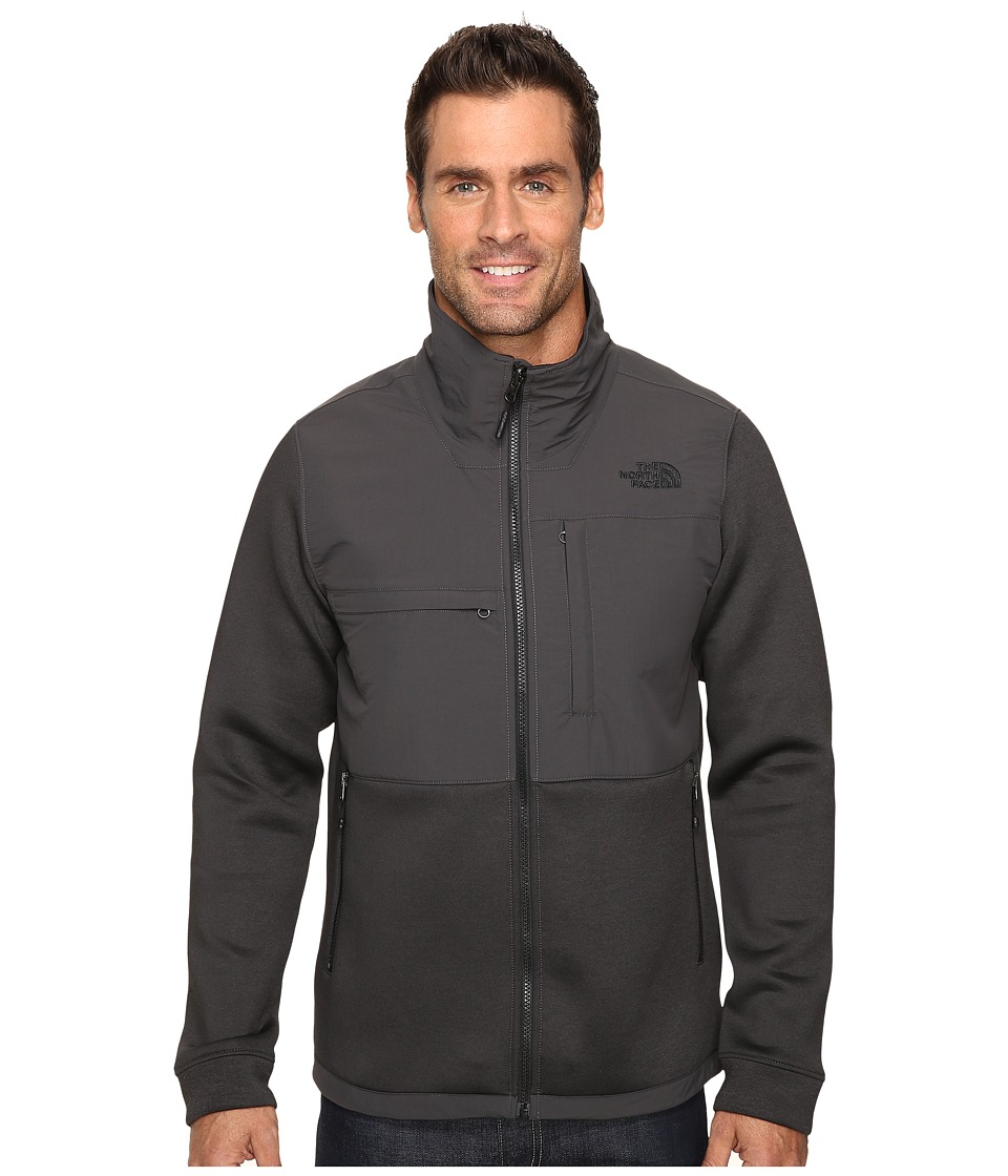 The North Face - Novelty Denali Jacket (TNF Dark Grey Heather Scuba/Asphalt Grey) Men's Jacket