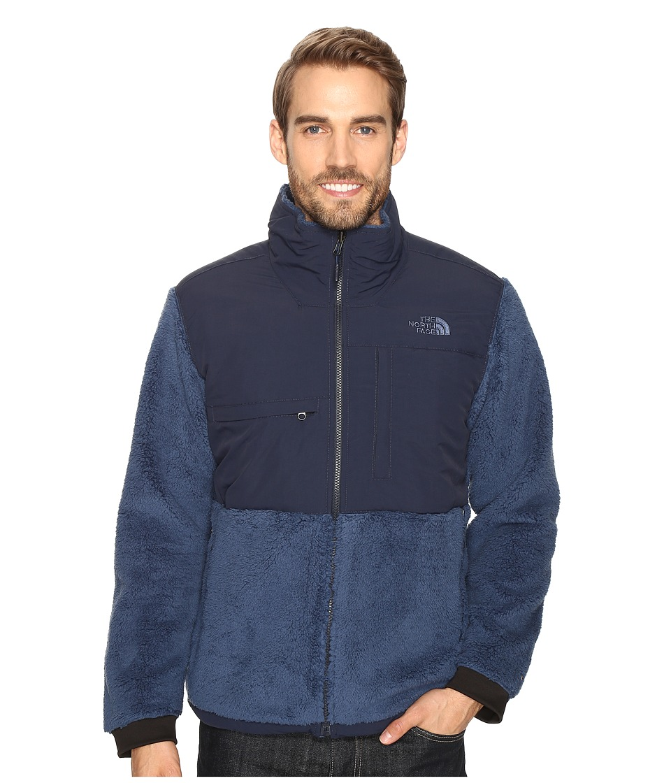 The North Face - Novelty Denali Jacket (Shady Blue Sherpa/Urban Navy) Men's Jacket