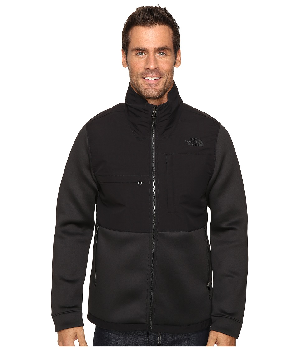 The North Face - Novelty Denali Jacket (TNF Black Heather Scuba/TNF Black) Men's Jacket