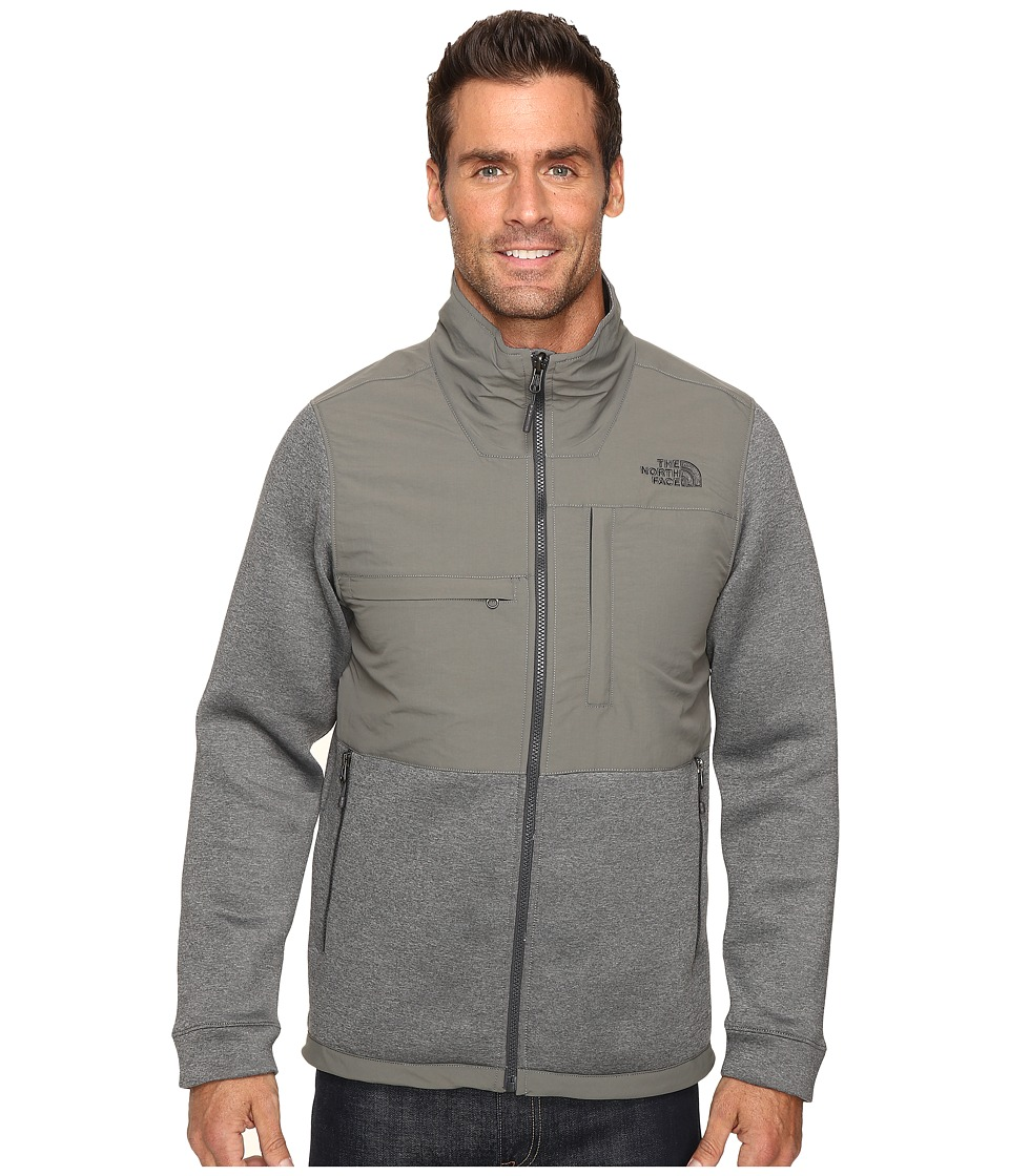 The North Face - Novelty Denali Jacket (TNF Medium Grey Heather Scuba/Fusebox Grey) Men's Jacket