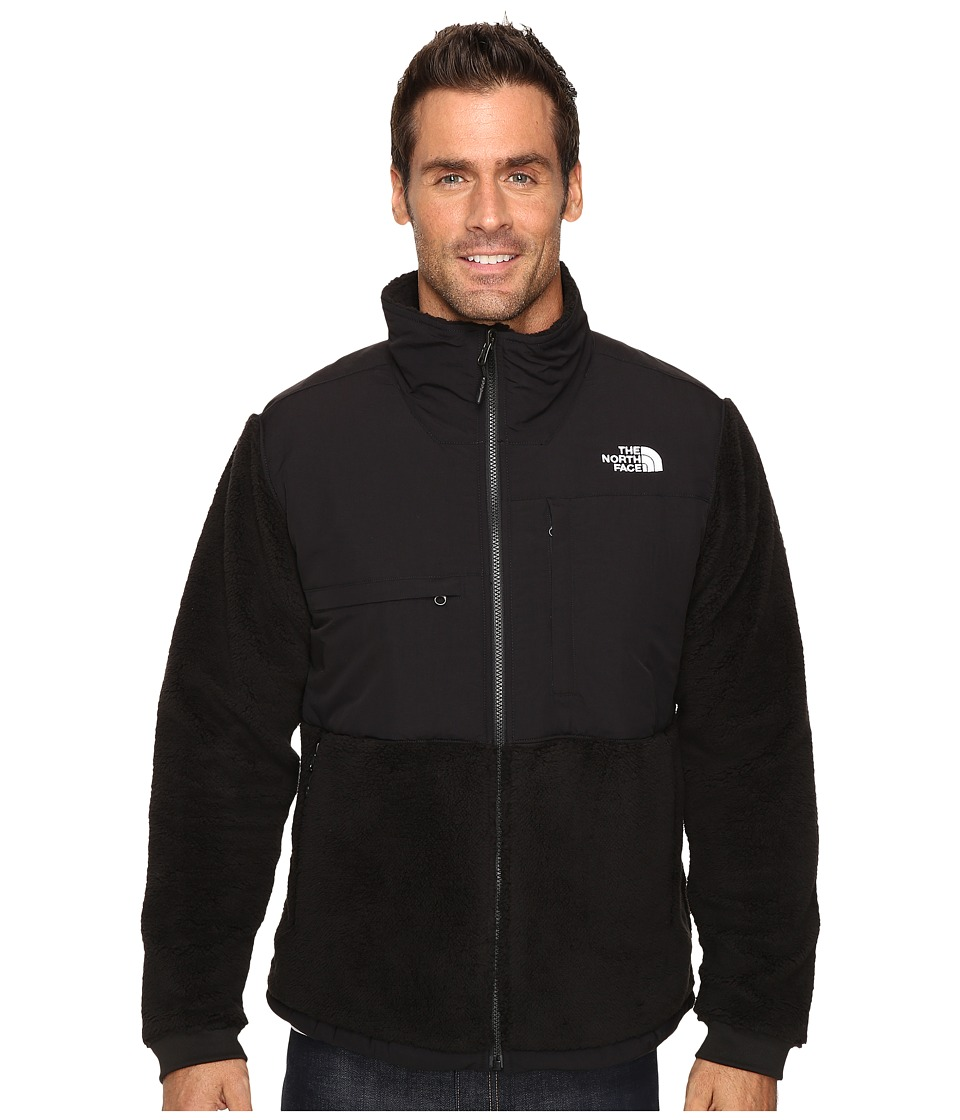 The North Face - Novelty Denali Jacket (TNF Black Sherpa/TNF Black) Men's Jacket
