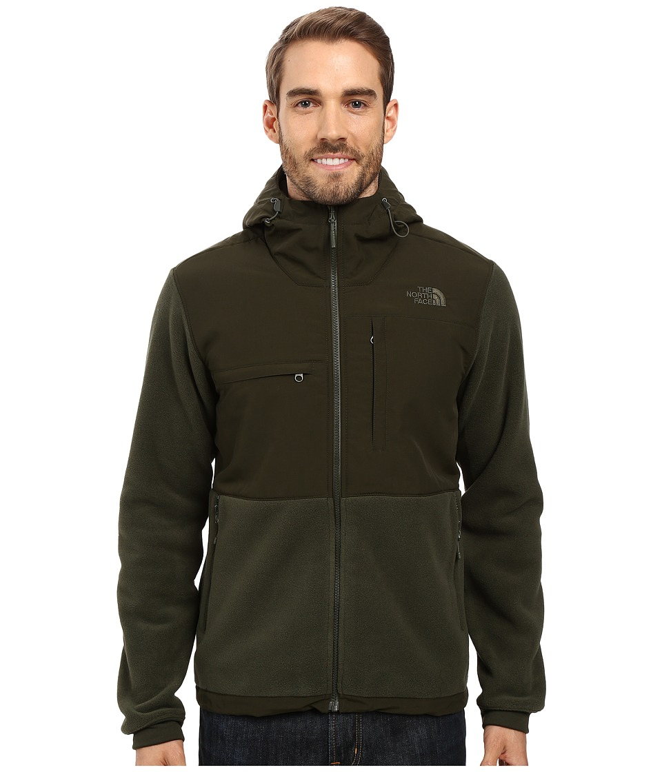 The North Face - Denali 2 Hoodie (Recycled Climbing Ivy Green/Rosin Green (Prior Season)) Men's Sweatshirt