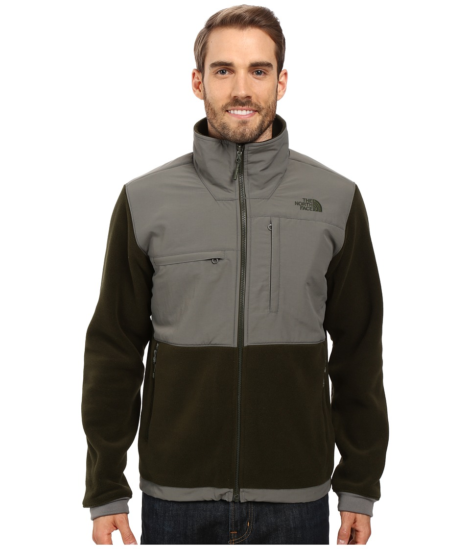 The North Face - Denali 2 Jacket (Recycled Rosin Green/Fusebox Grey) Men's Coat