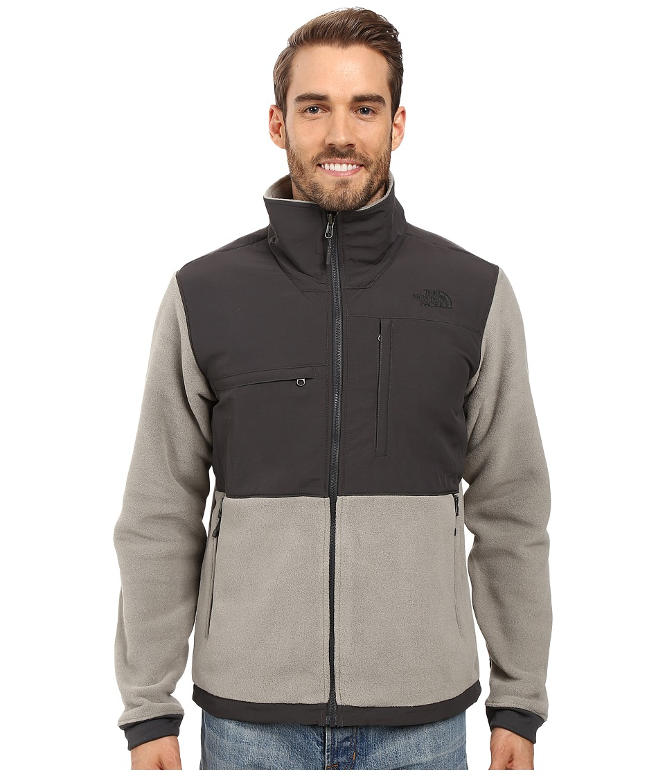 The North Face - Denali 2 Jacket (Recycled Moon Mist Grey/Asphalt Grey) Men's Coat