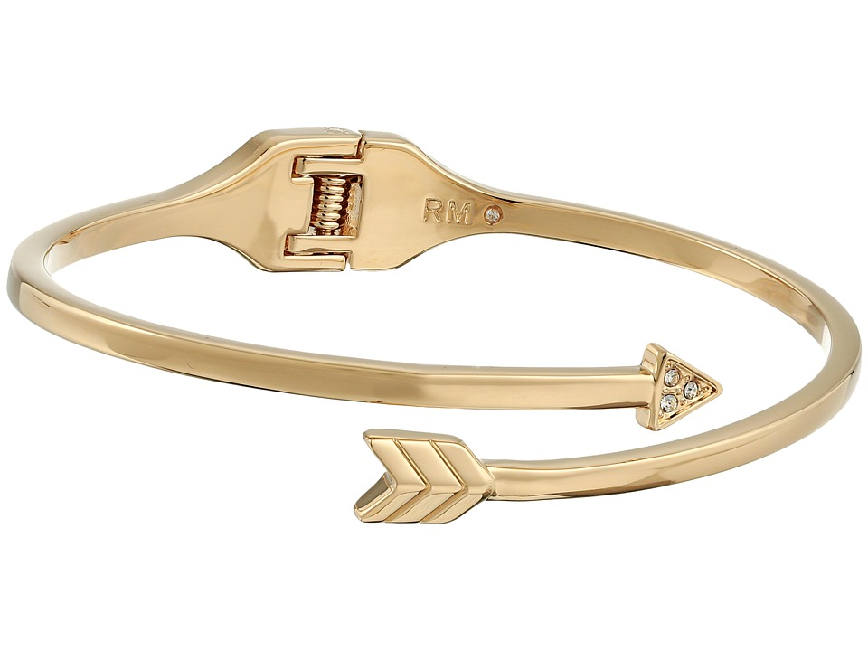 Rebecca Minkoff - Arrow Hinge Bracelet (12K with Crystal) Bracelet