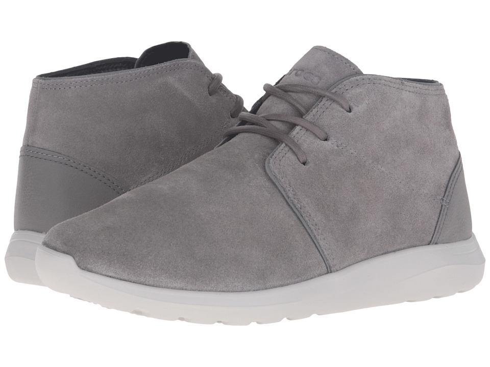 Crocs Kinsale Chukka (Charcoal/Pearl White) Men