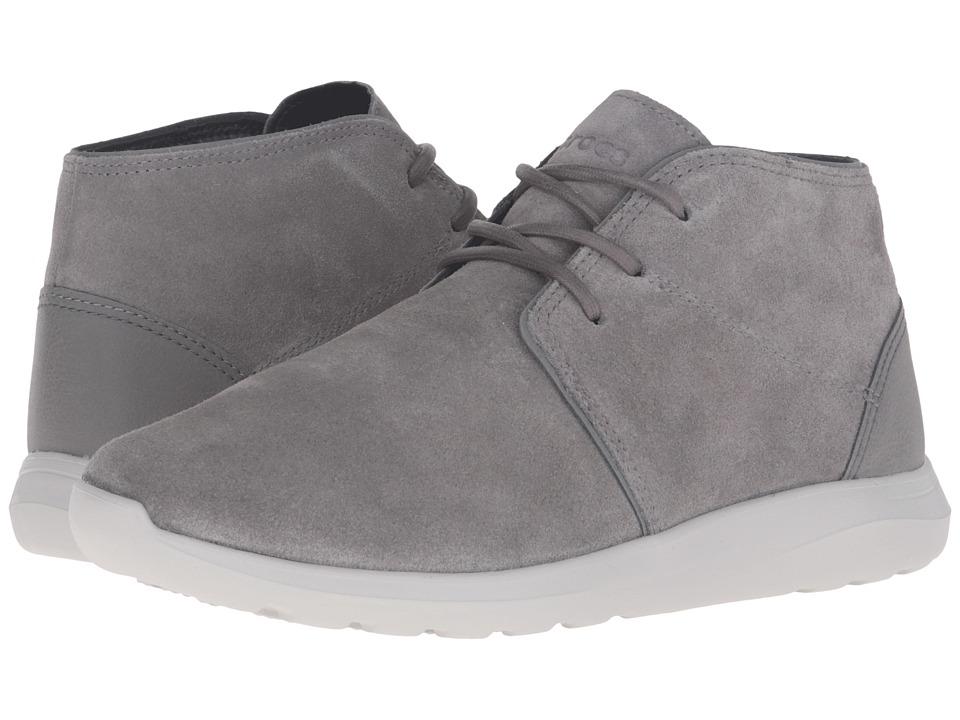 Crocs - Kinsale Chukka (Charcoal/Pearl White) Men's Boots