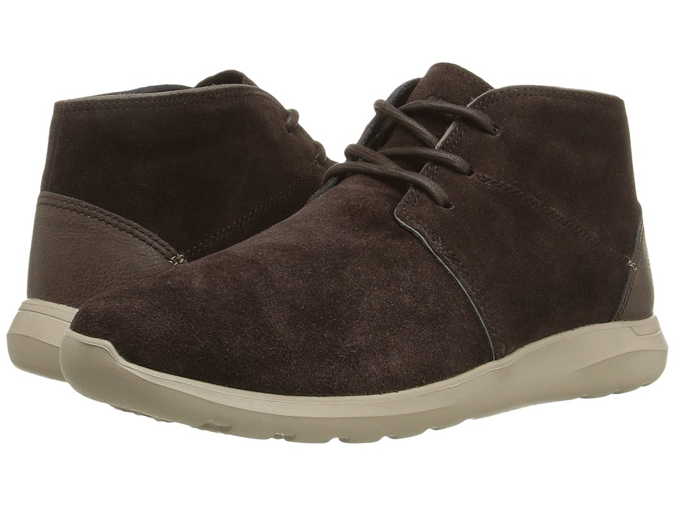 Crocs - Kinsale Chukka (Espresso/Cobblestone) Men's Boots