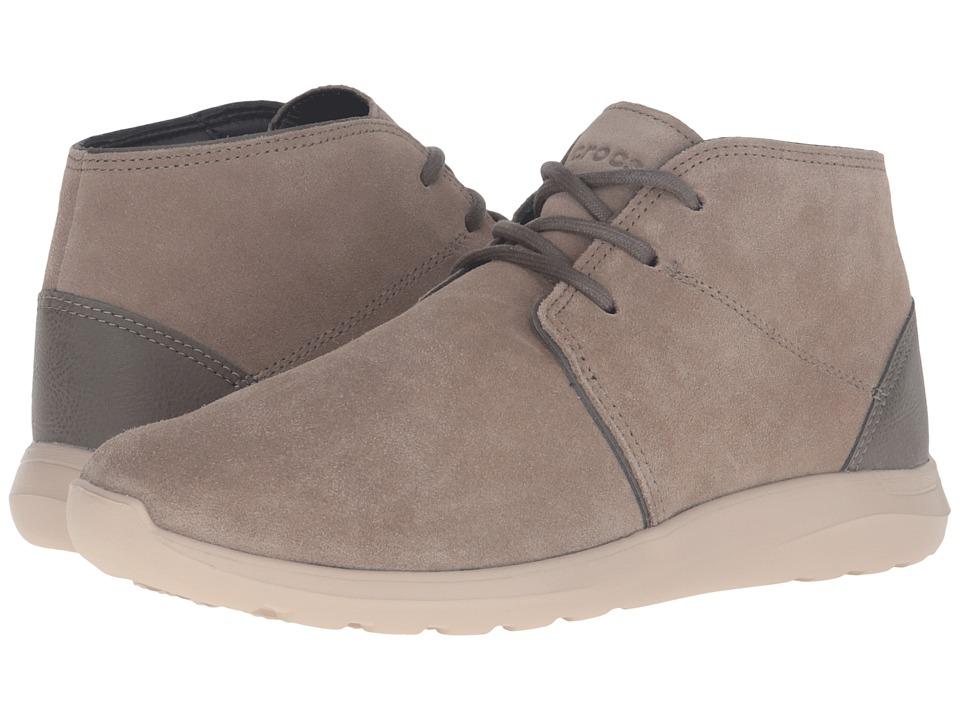 Crocs - Kinsale Chukka (Mushroom/Cobblestone) Men's Boots