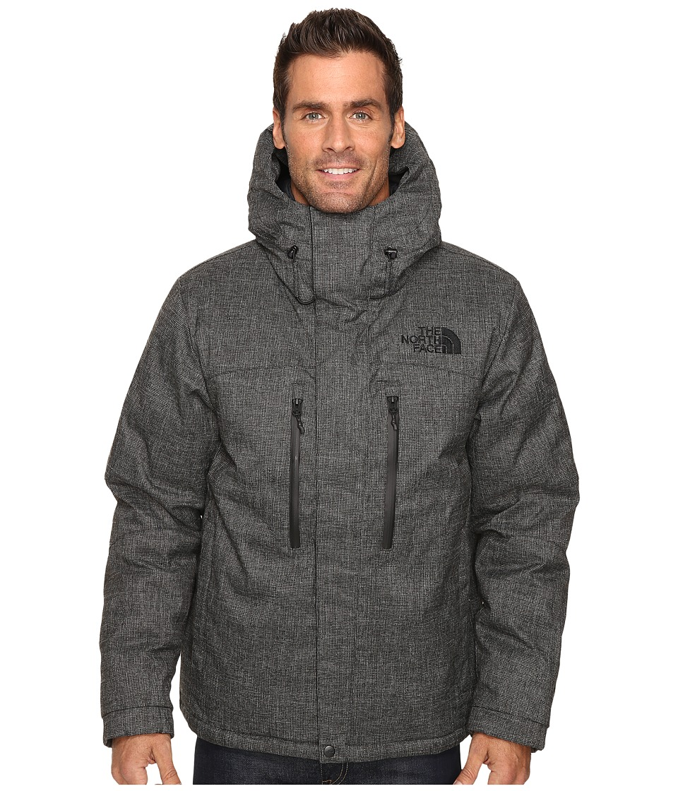 The North Face - Himalayan Lifestyle Parka (TNF Black Tweed) Men's Coat