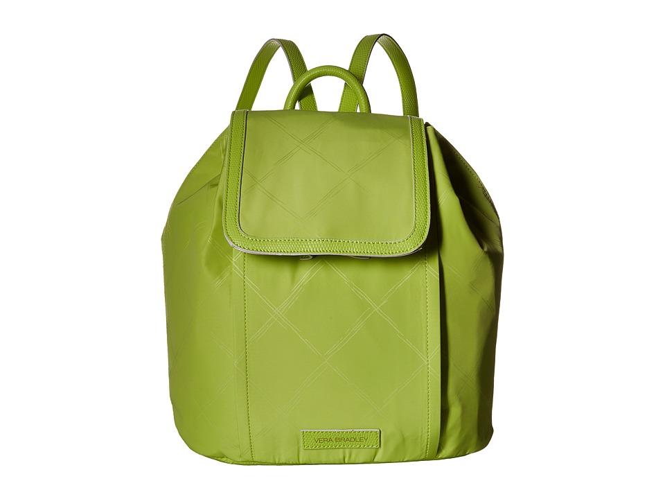 Vera Bradley - Preppy Poly Backpack (Citrine) Backpack Bags