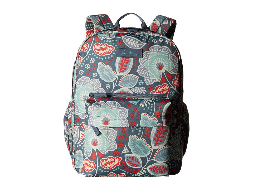 Vera Bradley - Lighten Up Grande Backpack (Nomadic Floral) Backpack Bags