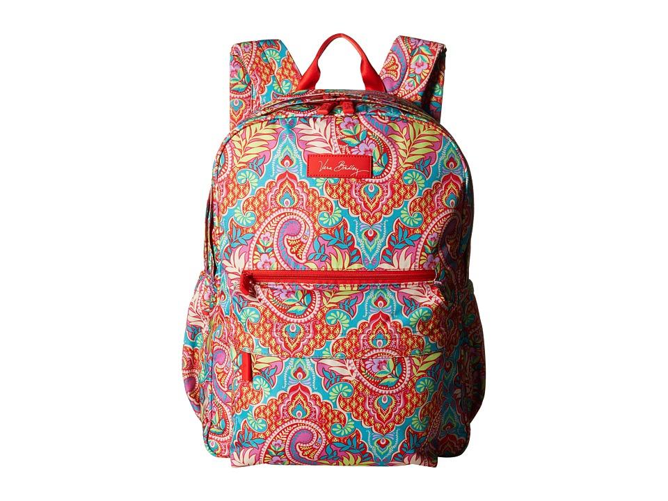 Vera Bradley - Lighten Up Grande Backpack (Paisley in Paradise) Backpack Bags