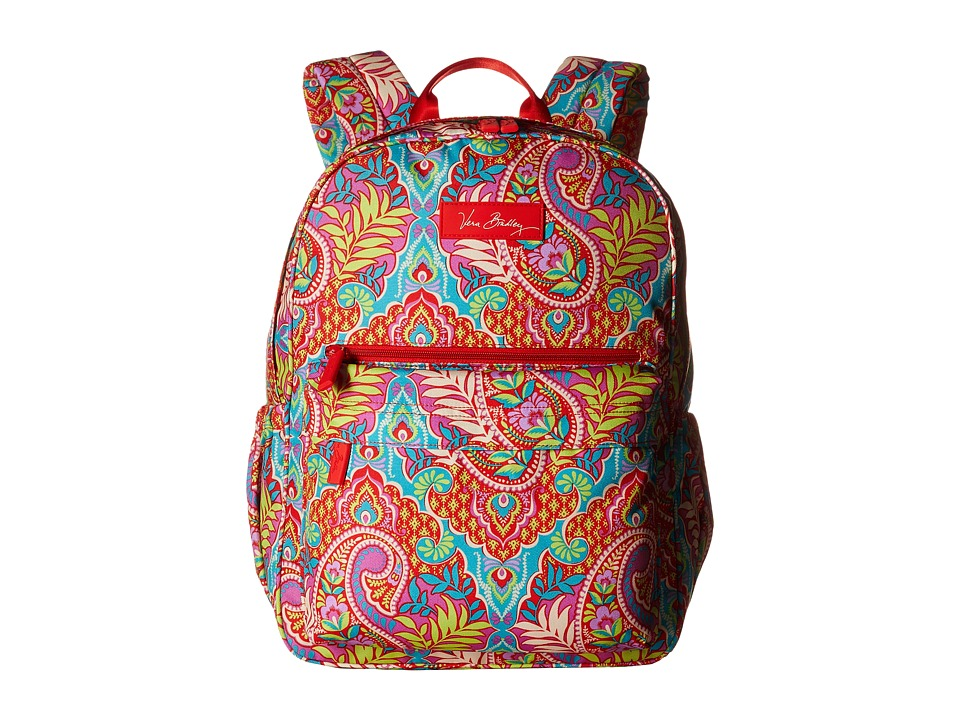 Vera Bradley - Lighten Up Just Right Backpack (Paisley in Paradise) Backpack Bags
