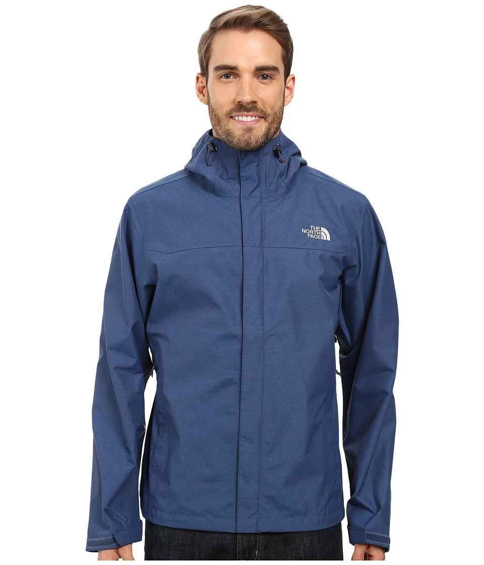 The North Face - Venture Jacket (Shady Blue Heather/Shady Blue Heather) Men's Coat