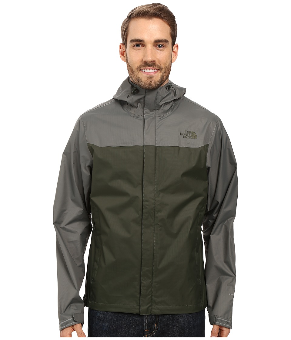 The North Face - Venture Jacket (Climbing Ivy Green/Fusebox Grey) Men's Coat