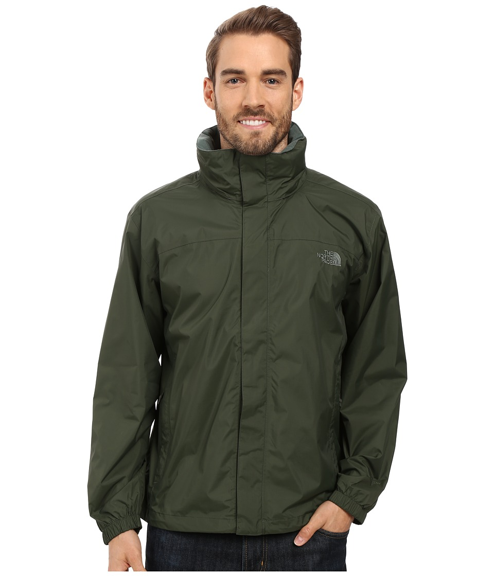 The North Face - Resolve Jacket (Climbing Ivy Green) Men's Sweatshirt
