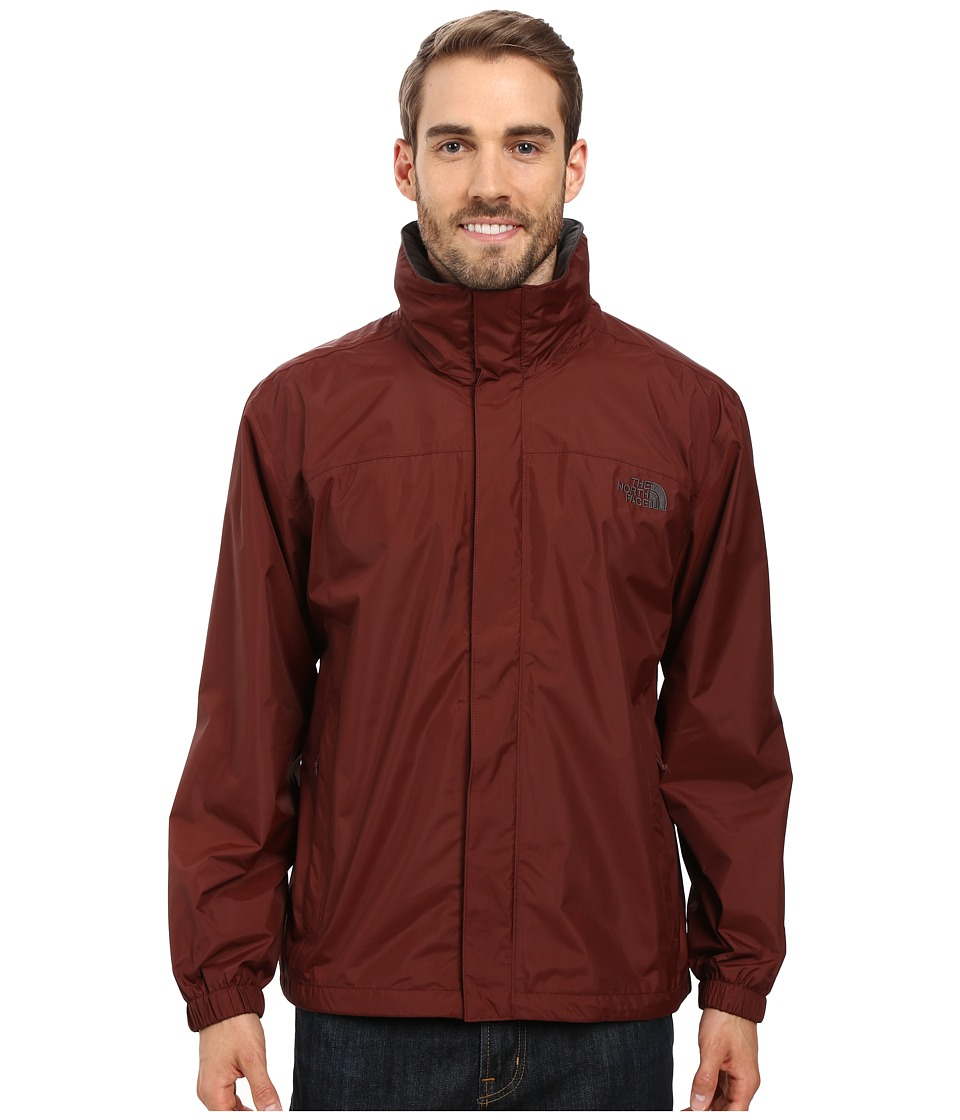 The North Face - Resolve Jacket (Sequoia Red/Asphalt Grey) Men's Sweatshirt